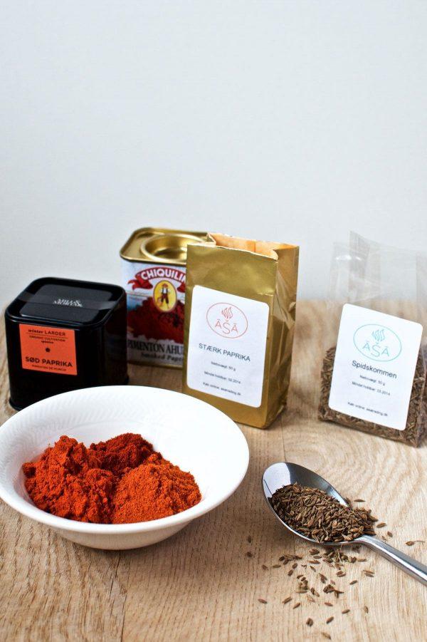 Krydderier til gullasch