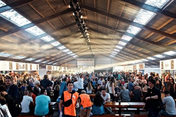 Roskilde Festival 2015 Food Court