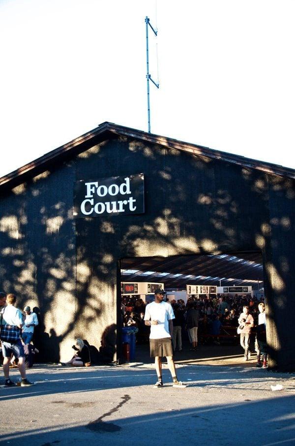 Roskilde Festival 2015, Food Court