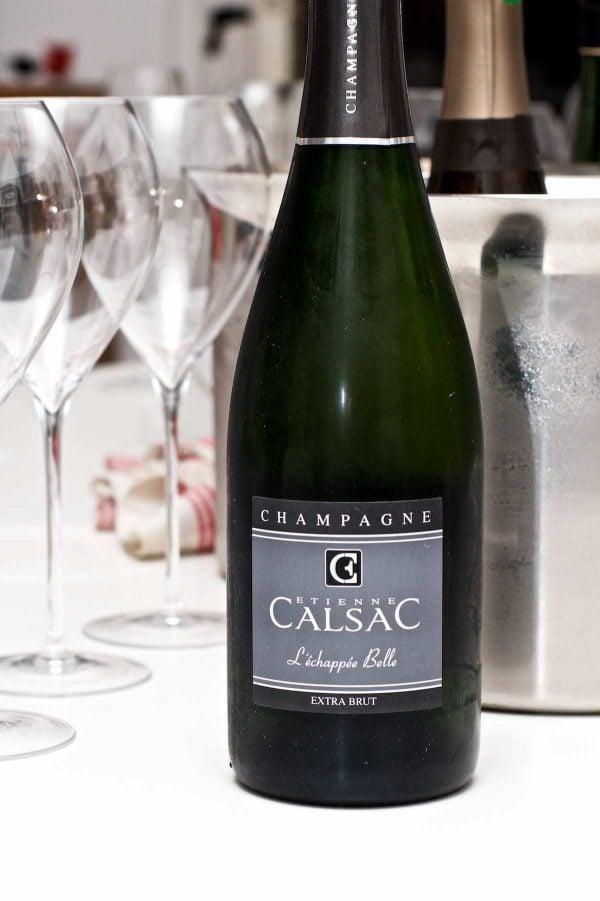 Champagnesmagning. Etienne Calsac L´échappée Belle