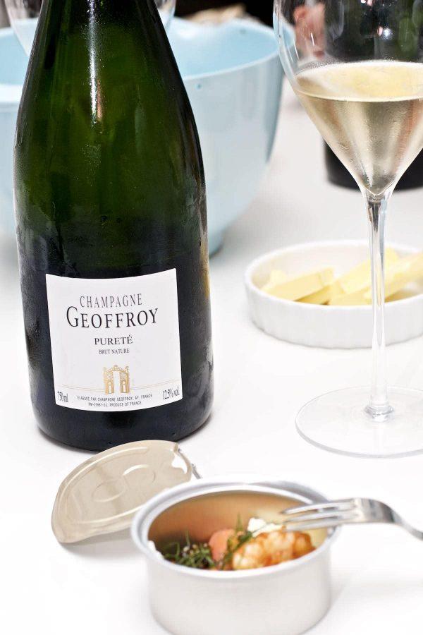 Champagnesmagning, Geoffroy Pureté, Brut Nature