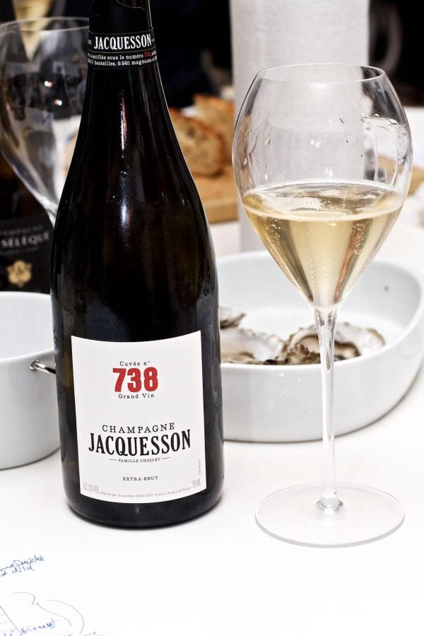 Champagnesmagning, Jacquesson Cuvée 738, Extra Brut