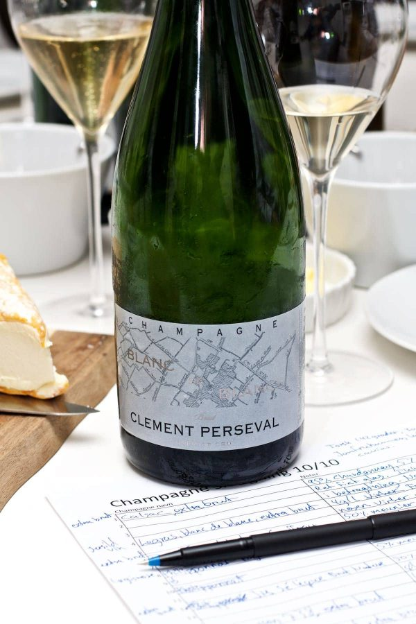 Champagnesmagning, Clement Perseval, Blanc des Blanc