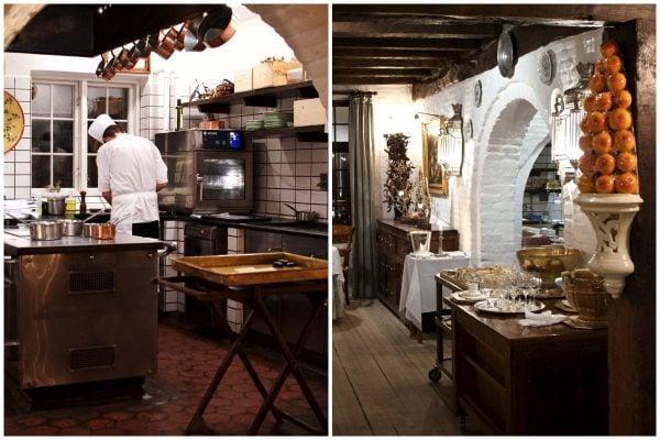 Falsled kro, køkkenet og restauaranten