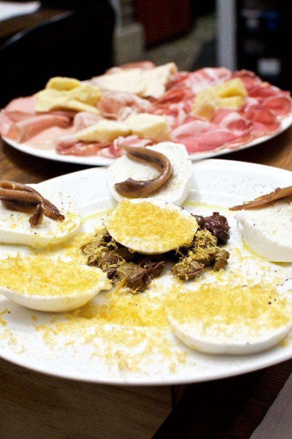 Ferie i Rom, Roscioli, Mozzarella, Charcuteri