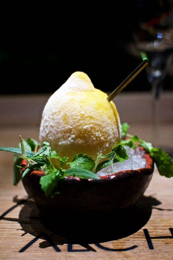 Restaurant Alchemist, Rasmus Munk, Citron og gin