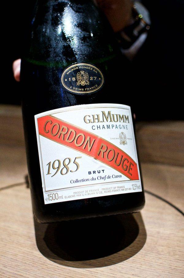 Restaurant Alchemist, Rasmus Munk, G.H. Mumm Cordon Rouge, Collection du Chef de Caves, 1985