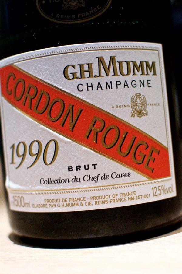 Restaurant Alchemist, Rasmus Munk, G.H. Mumm Cordon Rouge, Collection du Chef de Caves, 1990