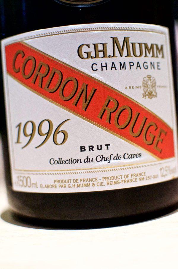 Restaurant Alchemist, Rasmus Munk, G.H. Mumm Cordon Rouge, Collection du Chef de Caves, 1996