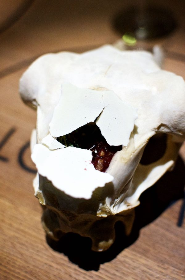 Restaurant Alchemist, Rasmus Munk, Lammehjerne