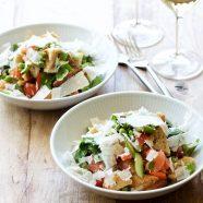 Panzanella – toscansk salat med brød og tomater