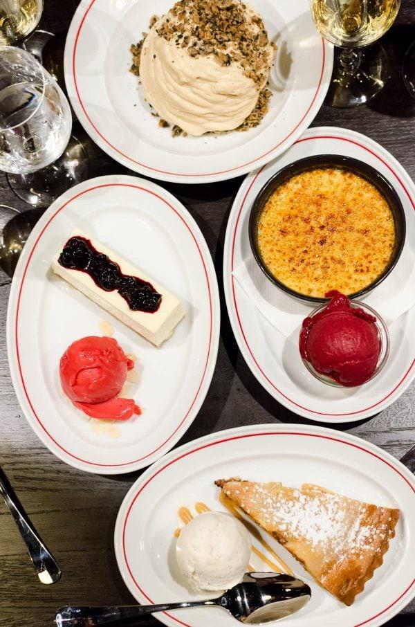 MASH Odense, Desserter, Crème Brûlée, Cheesecake, Apple pie