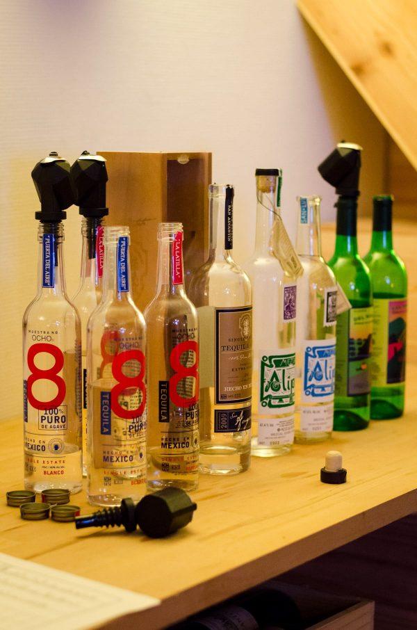 Lineup til tequila- og mezcalsmagning, Tequila Ocho