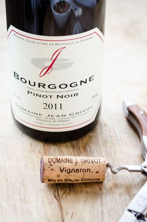 2011 Domaine Jean Grivot, Bourgogne Rouge