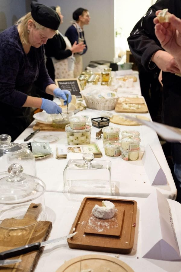 Slow Cheese Copenhagen, Tebstrup gedeosteri