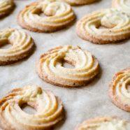 Vaniljekranse – opskrift på sprøde vaniljekranse til julen