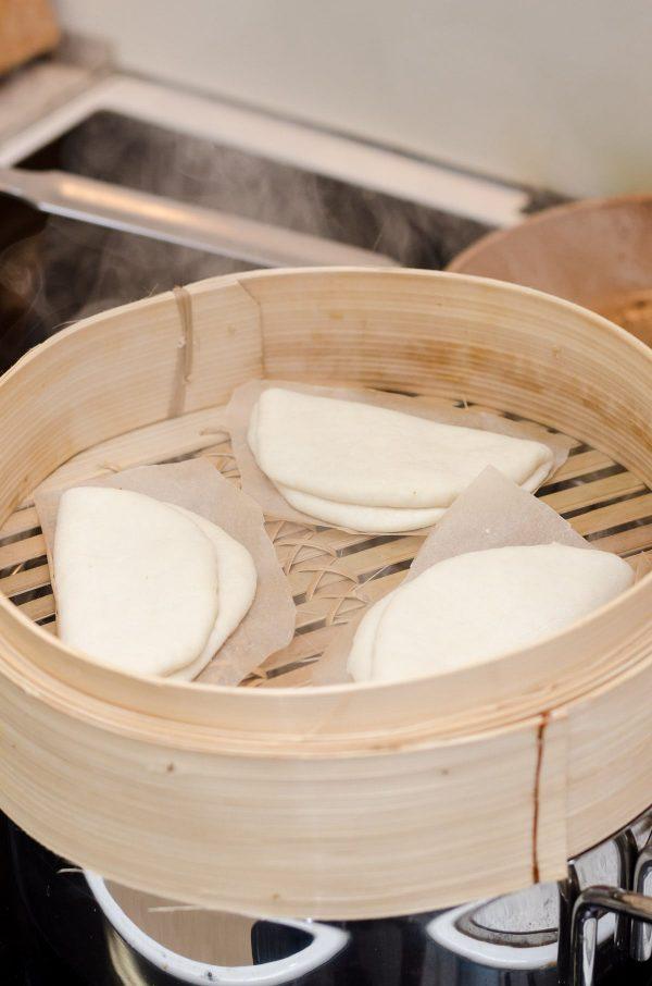 Gua bao, dampede boller