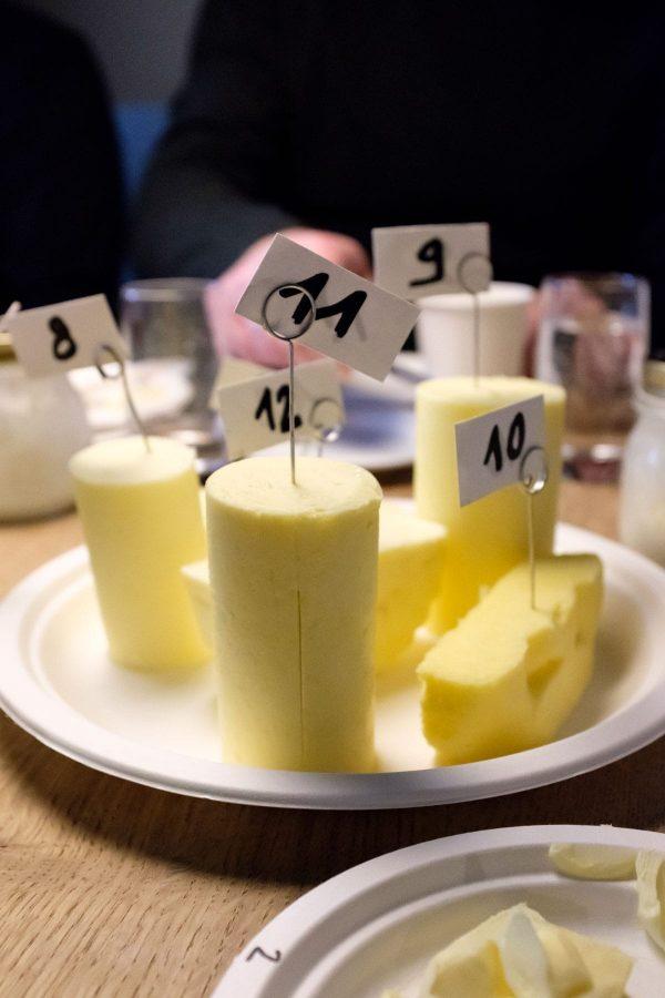 smørsmagning og masterclass i smør