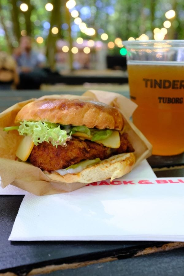 Tinderbox 2018, Snack & Blues, Fried Chicken Burger