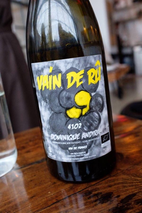 Restaurant Aro, Vain de Rû, Dominique Andiran