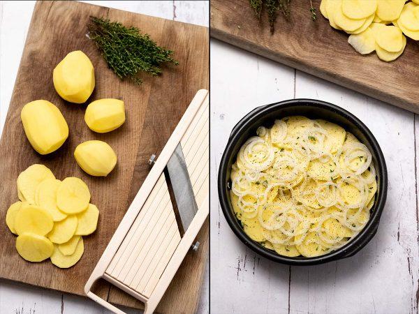 Sådan laver du flødekartofler