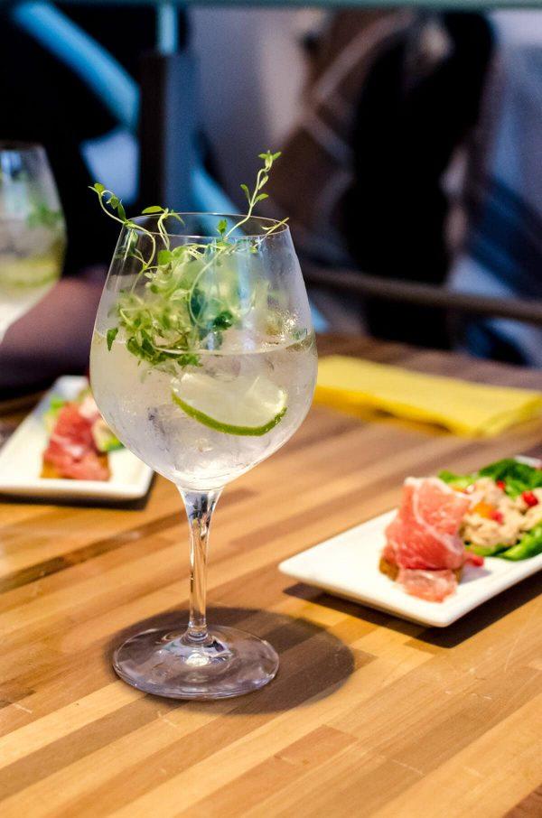 Copenhagen Gin Walk - Tapasbaren, Gin Mare og 1724 Tonic