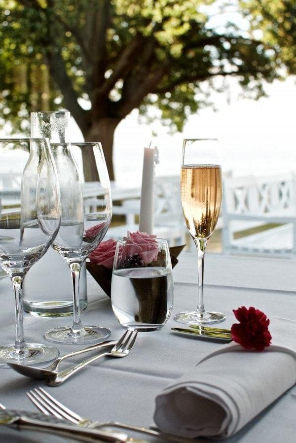 Restaurant Lieffroy - Rosé Champagne, Domaine J. Charpentier