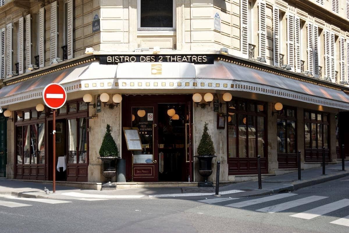 Le Bistro des deux Théatres - klassisk fransk bistromad i Paris