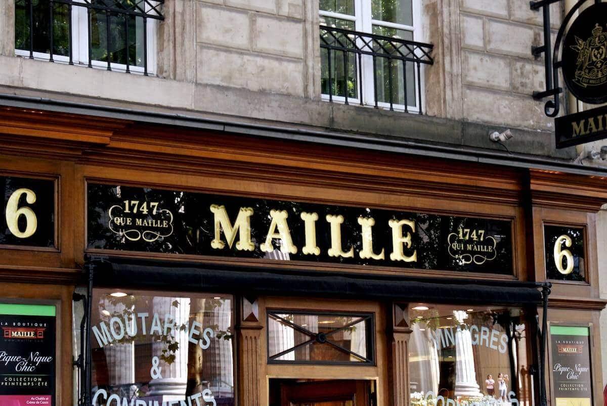 Ferie i Paris - Maille på Place de la Madeleine