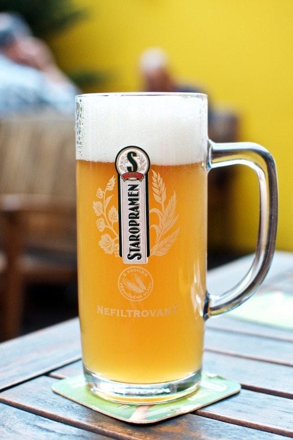 Kolde øl og tjekkisk mad