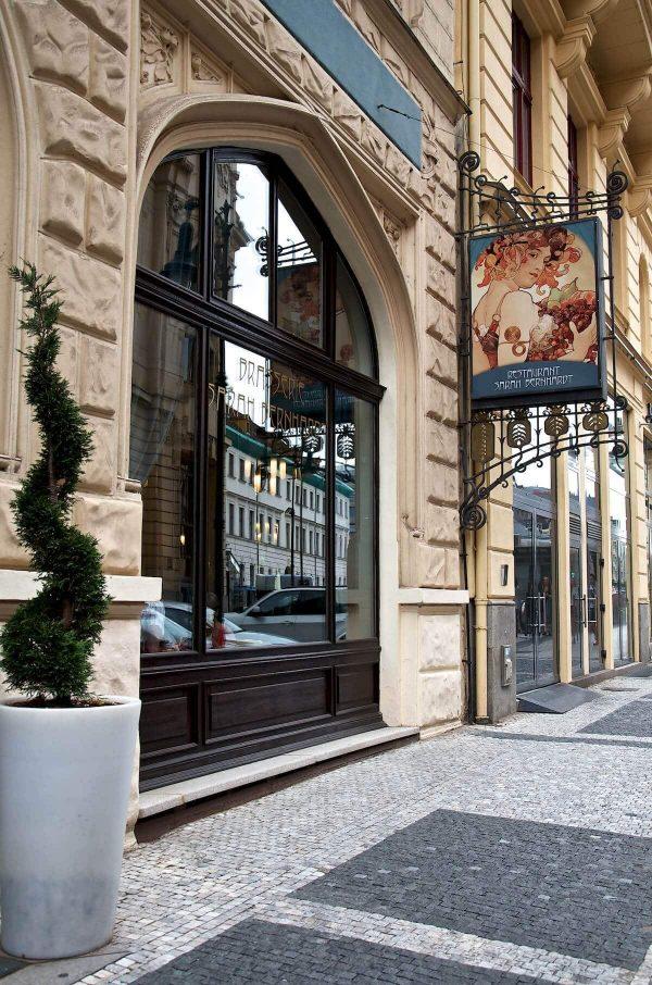 Sarah Bernhardt i Prag - Tjekkisk mad