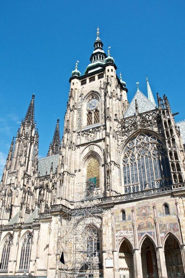 Prag - Sankt Vitus-katedralen