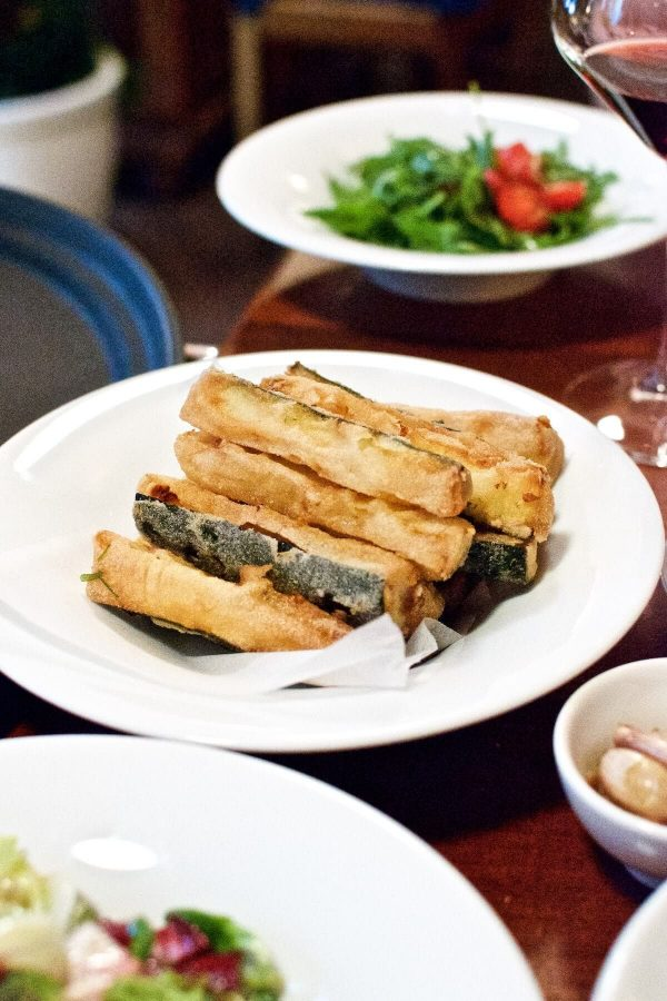 Prag La Finestra - Friteret zucchini