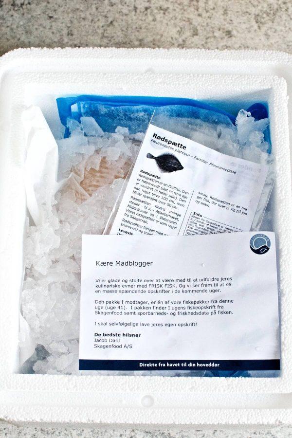 Frisk fisk fra Skagenfood, rødspætter