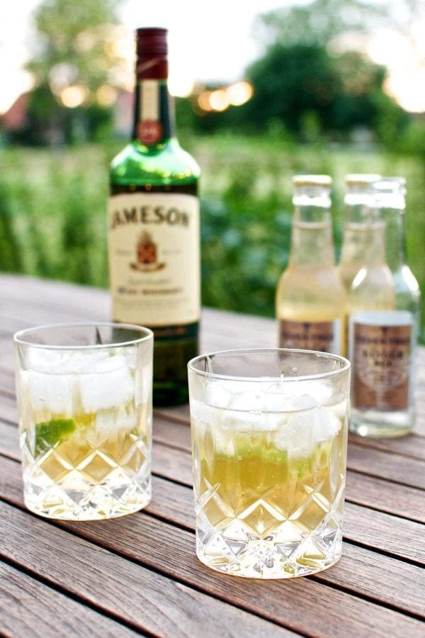 Sommercocktail - Jameson Ginger & Lime