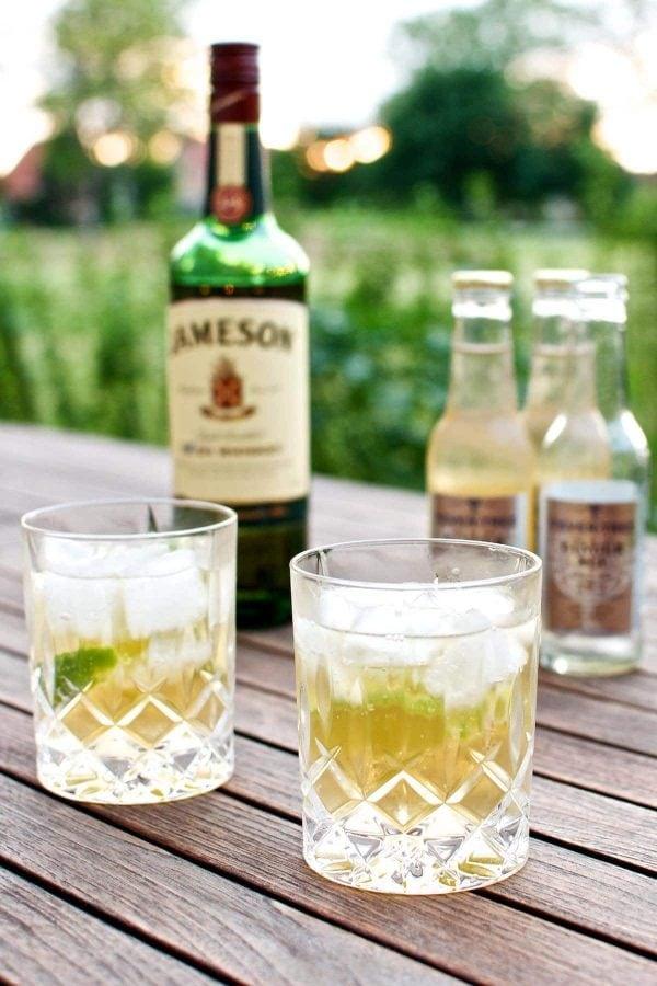 Sommercocktail - Jameson Ginger & Lime