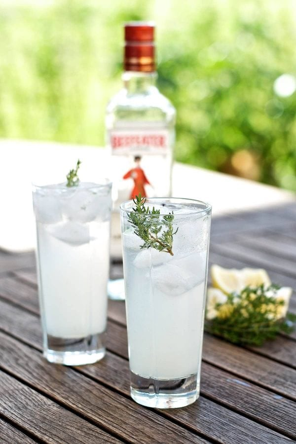 Sommercocktail - Beefeater Tom Collins