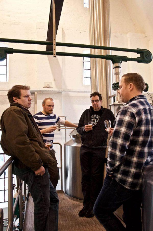 Brouwerij de Molen besøger Ugly Duck, Indslev Bryggeri